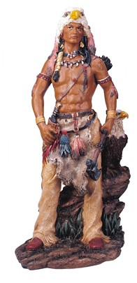 Indian Warrior with Eagle | GSC Imports