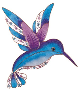 Hummingbird wall plaque gsc imports for Hummingbird decor