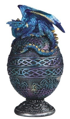 Blue Dragon Egg Trinket Box Gsc Imports