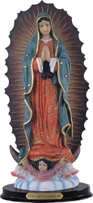 "16"" Our Lady of Guadalupe"