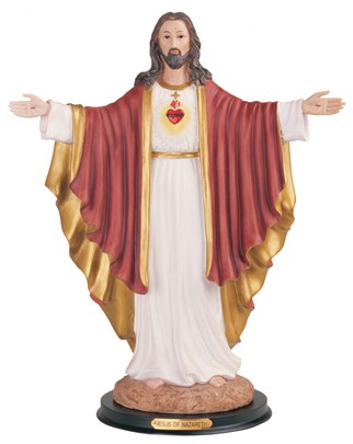 "16"" Sacred Heart of Jesus"