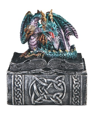Blue Dragon Trinket Box