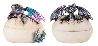Dragon Egg Trinket Box Set
