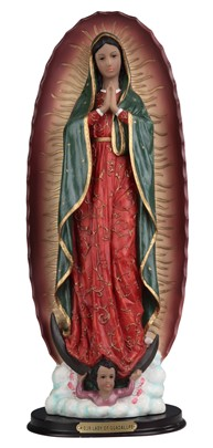 "18"" Our Lady of Guadalupe"