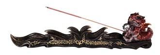 Red Dragon Incense Burner---