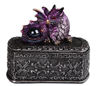 Purple Dragon/Trinket Box---