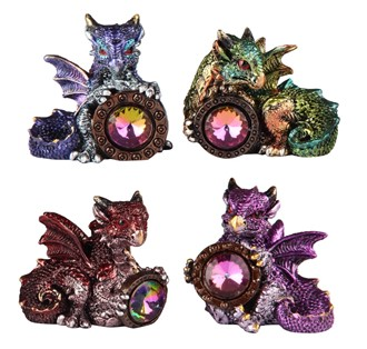 Dragon with Jewel 4pc Set