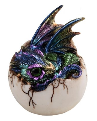 "4"" Purple Dragon Egg"