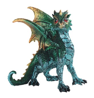 "5"" Green Dragon"