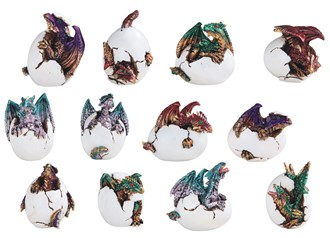 "5"" Dragon Egg 12 pc Set"