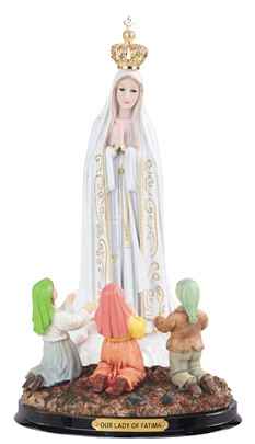 "16"" Our Lady of Fatima/Children"