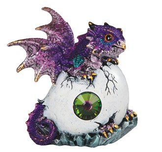 Purple Dragon in Egg