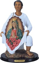 "View 13"" Saint Juan Diego kneeling"
