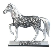 View Decorative Silver Horse