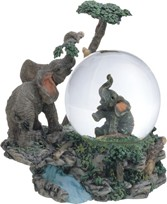 View Snow Globe Elephant