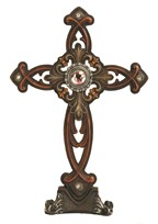 View Cross Tabel Decor Brown