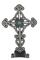 View Cross Table Decor White