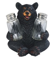 View Black Bear Salt & Pepper Holder---