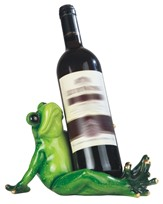 View Frog Wine Holder