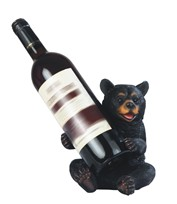 View Black Bear Wine Holder
