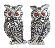 View Owl -Silver Set