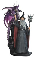 View Wizard with Purple Dragon