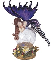 View LED Light Fairy with Clear Wings
