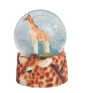 View Giraffe Snow Globe