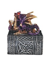 View Purple Dragon Trinket Box