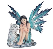 View Blue Fairy with White Tiger