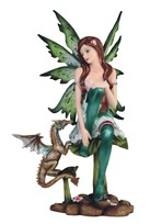 View Green Fairy with Dragon