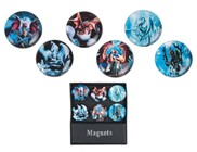 View Magnets -Dragon 6 pc Set