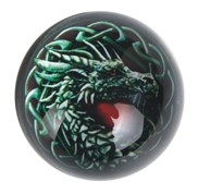 View Paperweight -Dragon Black