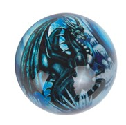 View Paperweight -Dragon Blue