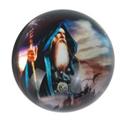 View Paperweight -Wizard Sunset