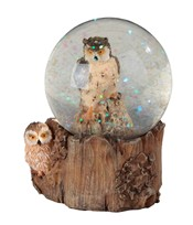 View Owl Snow Globe