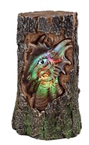 View Dragon Head/LED Tree Trunk---