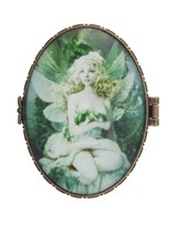 View Jewery Box-Oval, Green Fairy