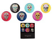 View Magnets-Skull 6pc Set