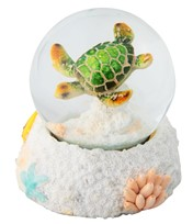 View Green Sea Turtle Snow Globe