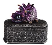 View Purple Dragon/Trinket Box---