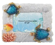 View Blue Sea Turtle Picture Frame 6x4