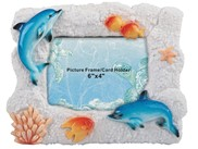 View Blue Dolphin Picture Frame 6x4