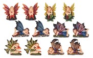 View Magnets-Fairy Colorful 12pc Set---
