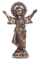"View 12"" Bronze Holy Child"
