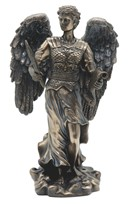 "View 12"" Bronze Archangel Gabriel---"