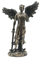 "View 12"" Bronze Archangel Jehudiel---"