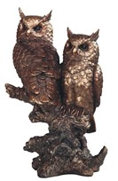 View Bronze Owl Couple