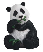 View Panda with Bamboo
