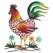 View Rooster Wall Decoration